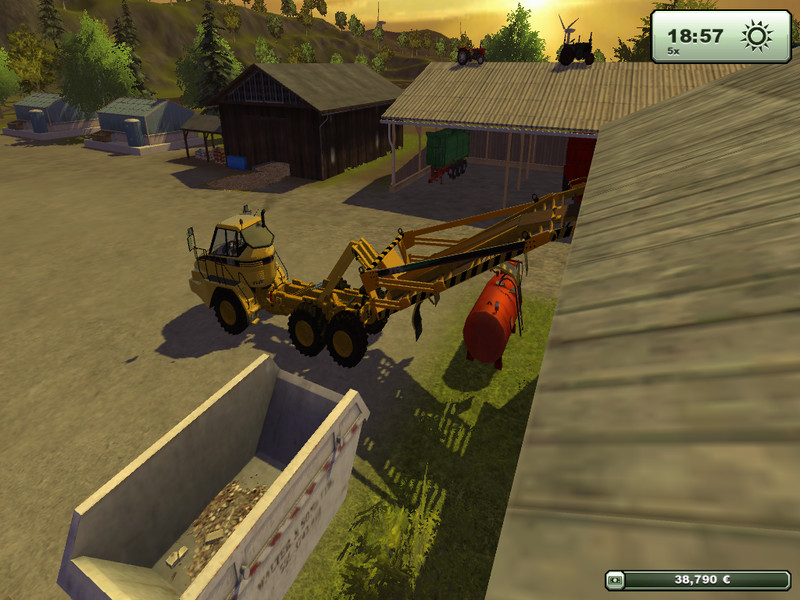 CAT 725 Articulated Pack v 1.5 2