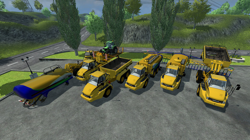 CAT 725 Articulated Pack v 1.5 4
