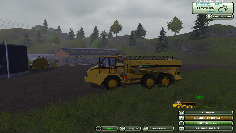 CAT 725 Articulated Pack v 1.5
