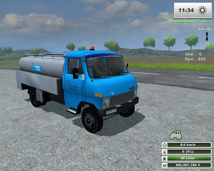 Hanomag F65 Milk Tanker v 1.0.2 Mr