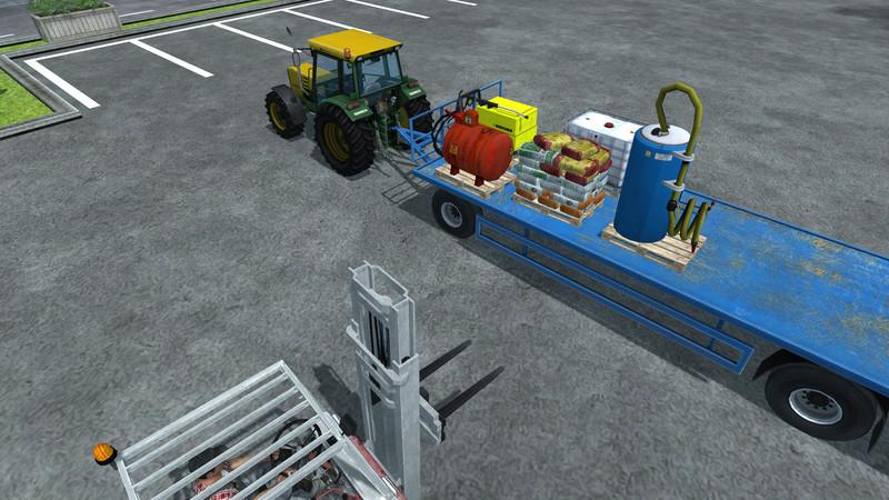 Linde Forklift with Pallet v 1.2 - Farming simulator 2013 ...