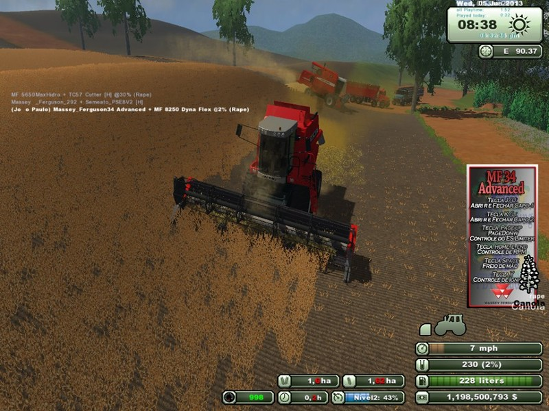 Massey Ferguson 34 Advanced v 1.0 1