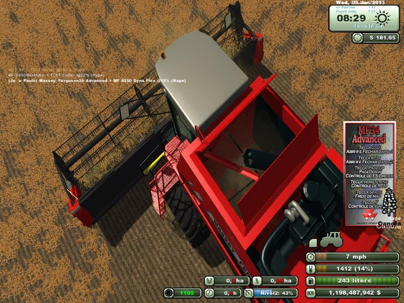 Massey Ferguson 34 Advanced v 1.0 2