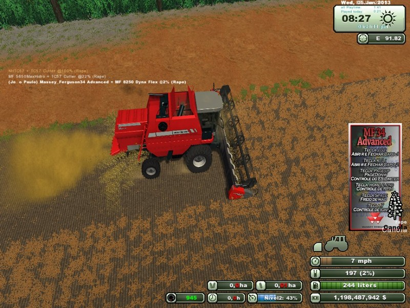 Massey Ferguson 34 Advanced v 1.0 3