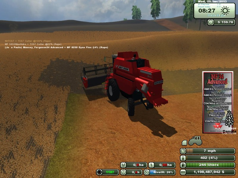 Massey Ferguson 34 Advanced v 1.0 4