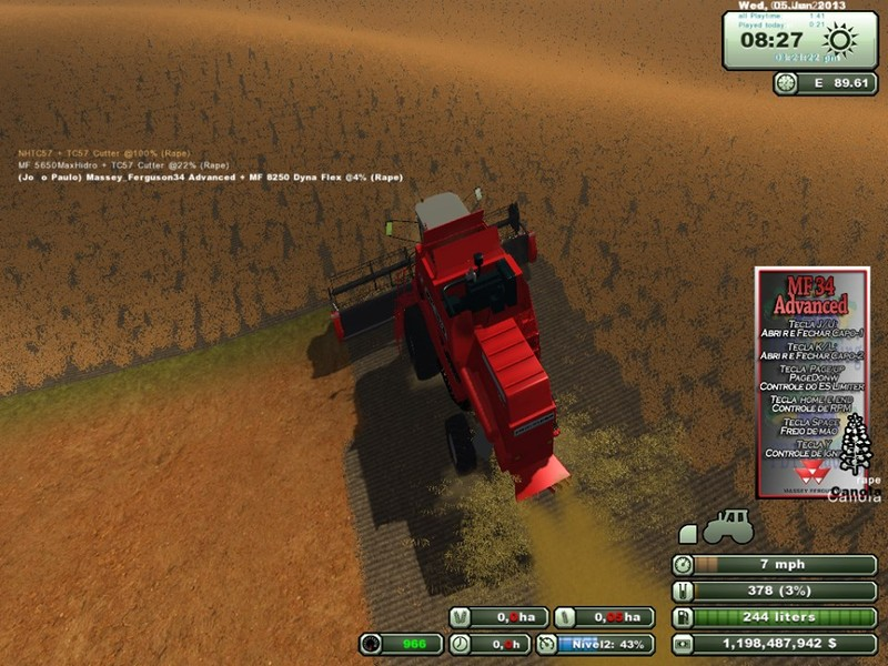 Massey Ferguson 34 Advanced v 1.0 5