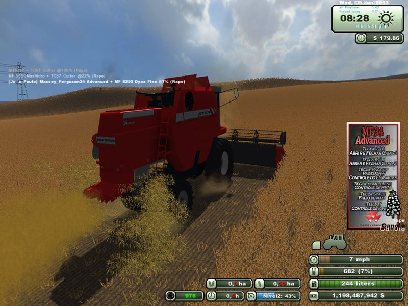 Massey Ferguson 34 Advanced v 1.0