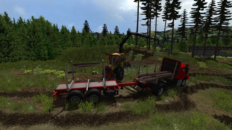 FARMING SIMULATOR 2013 FOREST MOD ЛЕСОЗАГОТОВКИ СКАЧАТЬ БЕСПЛАТНО