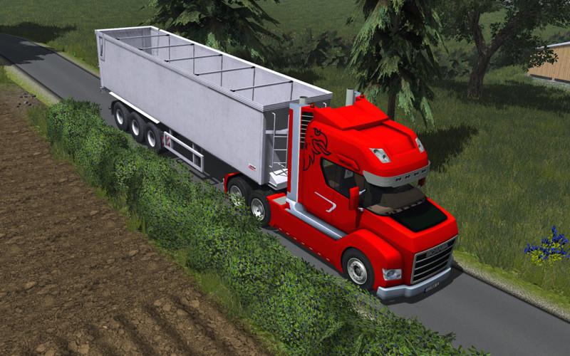 Scania Stax v 2.0 Rot und Blau 3