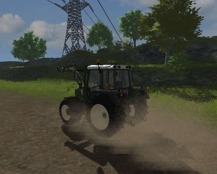 Fendt 312 TMS WHITE v 2.0 MR 1