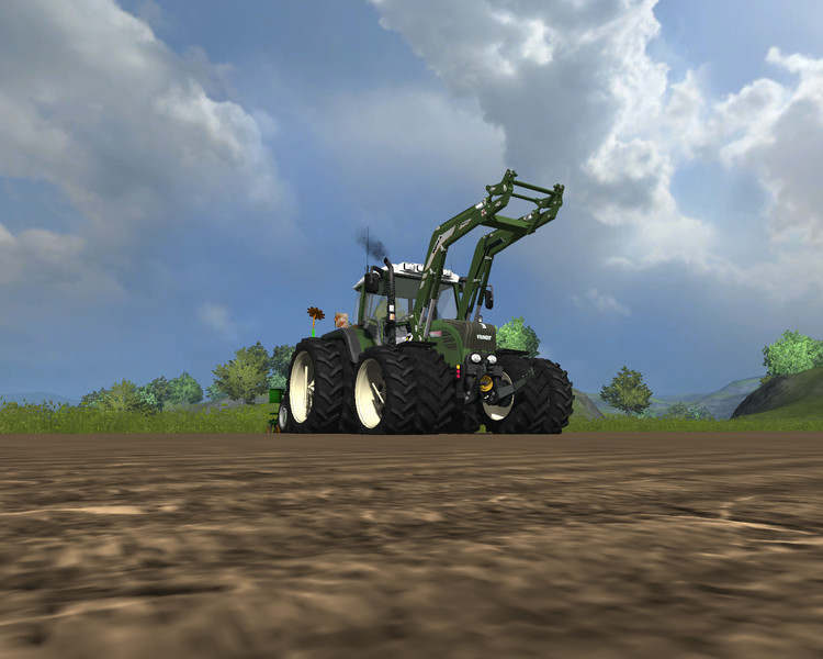 Fendt 312 TMS WHITE v 2.0 MR 3