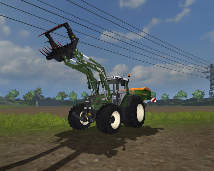Fendt 312 TMS WHITE v 2.0 MR 4
