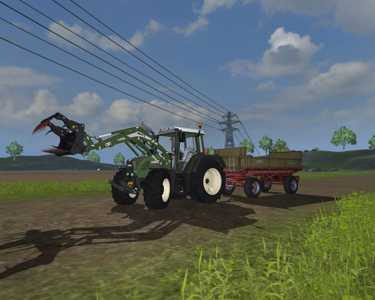 Fendt 312 TMS WHITE v 2.0 MR 5