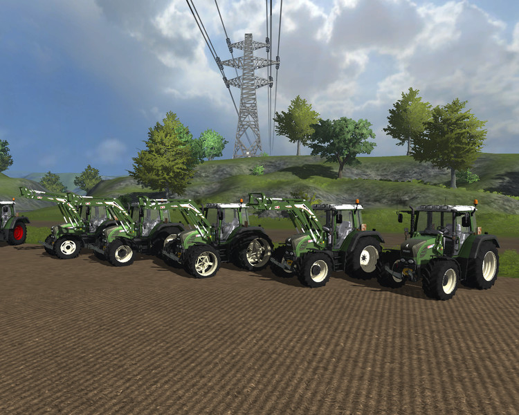 Fendt 312 TMS WHITE v 2.0 MR