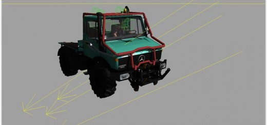 Forestry Framework For Unimog U1600 V 1.0