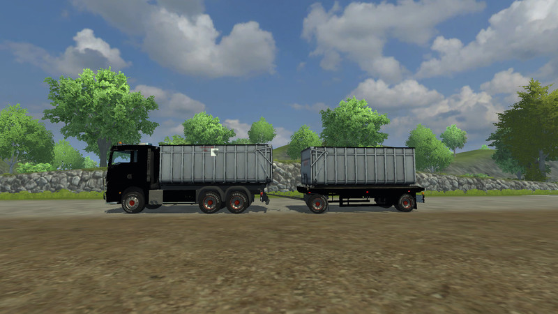 MAN TGX HKL with container v 1.0 MR 1