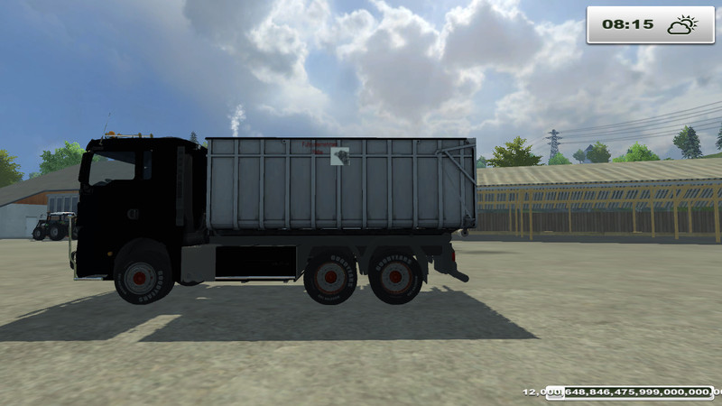 MAN TGX HKL with container v 1.0 MR 2