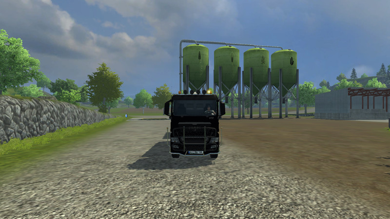 MAN TGX HKL with container v 1.0 MR